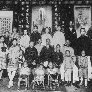 Group of people standing for a portrait
