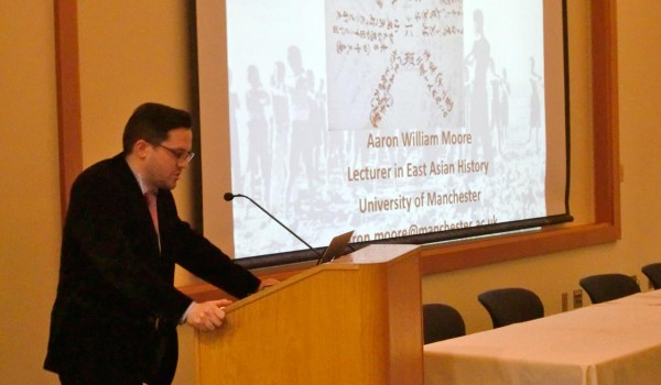 Aaron William Moore, East Asian History Lecturer, University of Manchester